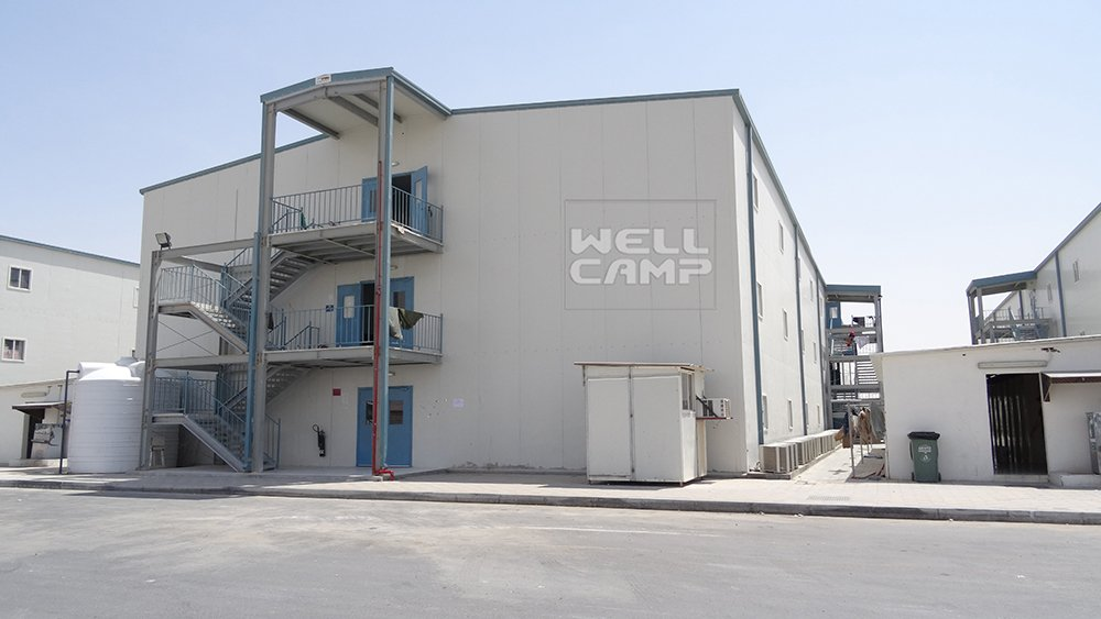WELLCAMP, WELLCAMP prefab house, WELLCAMP container house Three Storey Prefabricated House for Labour Camp, Wellcamp T-11 T prefabricated House image16