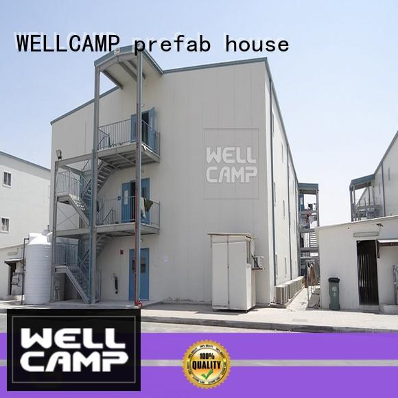 WELLCAMP, WELLCAMP prefab house, WELLCAMP container house high quality china standard prefabricated house worker camp manufacturers online for dormitory