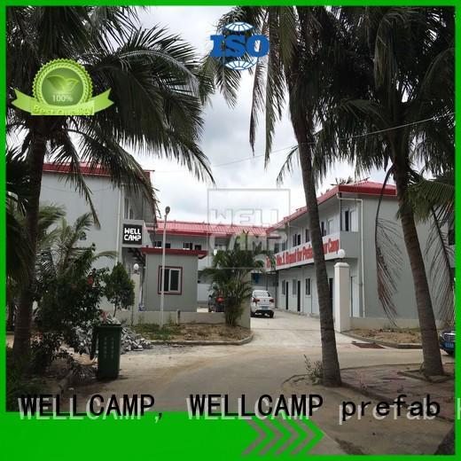 WELLCAMP, WELLCAMP prefab house, WELLCAMP container house prefab container homes classroom for labour camp