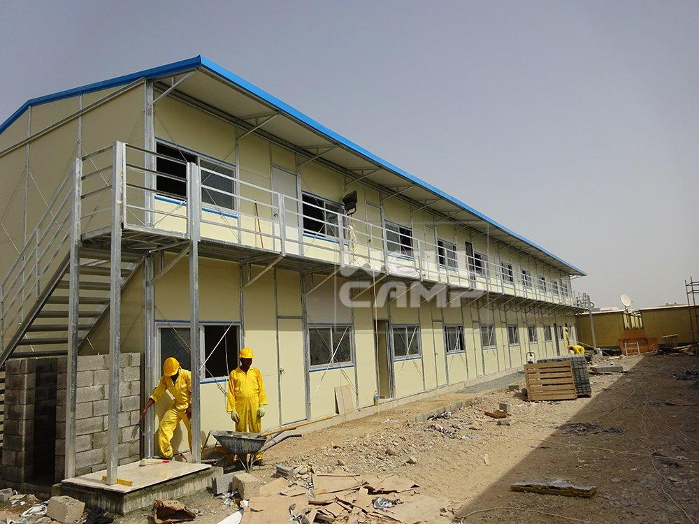 Wellcamp Galvanized Steel Prefab House in Oman Project