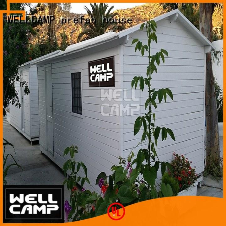 WELLCAMP, WELLCAMP prefab house, WELLCAMP container house temporary prefabricated houses manufacturers china good selling for labour camp