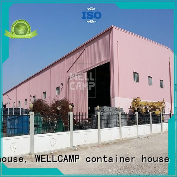 WELLCAMP, WELLCAMP prefab house, WELLCAMP container house prefabricated warehouse supplier for sale