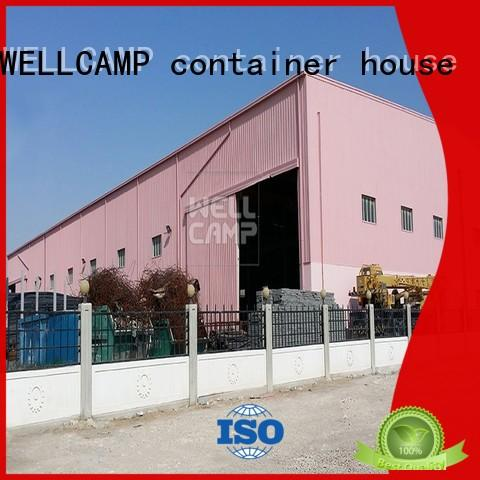 WELLCAMP, WELLCAMP prefab house, WELLCAMP container house economic steel workshop manufacturer