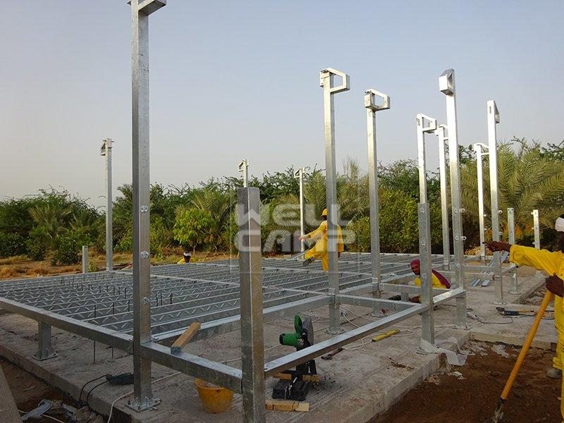 Wellcamp Light Steel Prefab Villa in Dubai Project