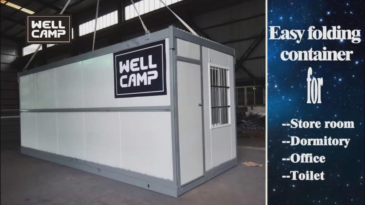 2016 Wellcamp New Style Easy Folding Container House-prefab houses- prefab house supplier- Prefab house supplies-WELLCAMP, WELLCAMP prefab house, WELLCAMP container house