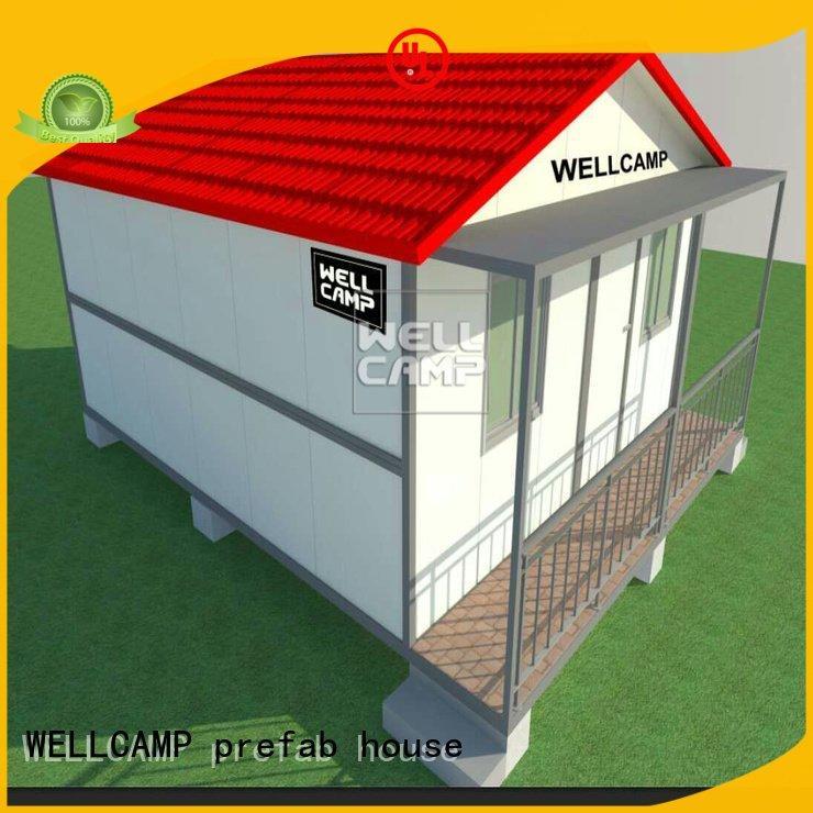 Brand house steel customized light steel villa premade low