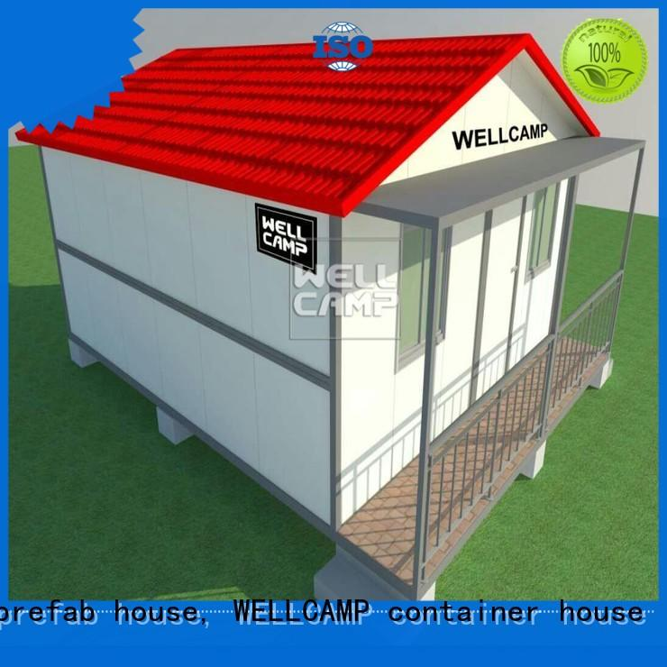 WELLCAMP, WELLCAMP prefab house, WELLCAMP container house affordable sea can homes labour camp for sale