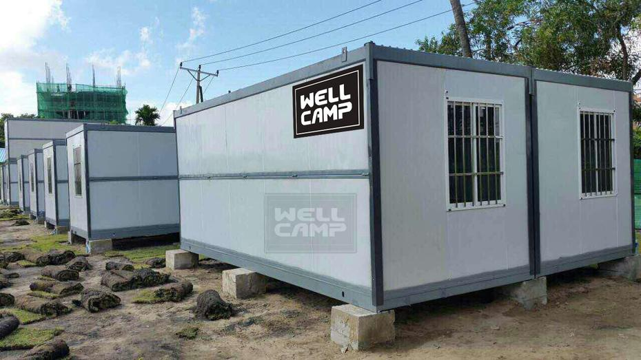 Wellcamp Folding Container House for Workers in Myanmar