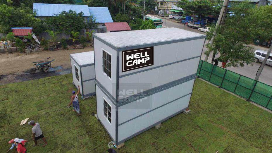 Does WELLCAMP provide EXW for folding container house?
