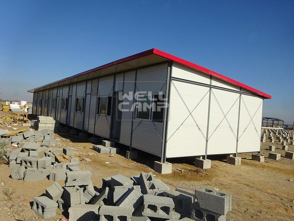 Wellcamp Modular Prefab House for Camp in Oman