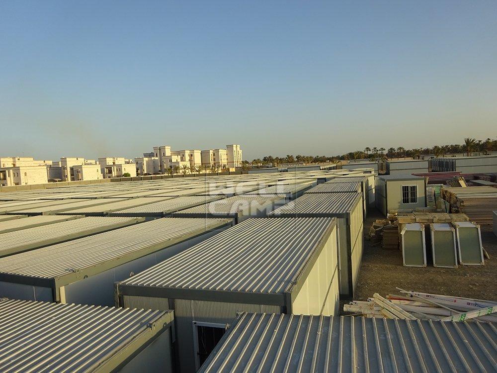 Proyecto de la casa de contenedor plegable Wellcamp en Omán