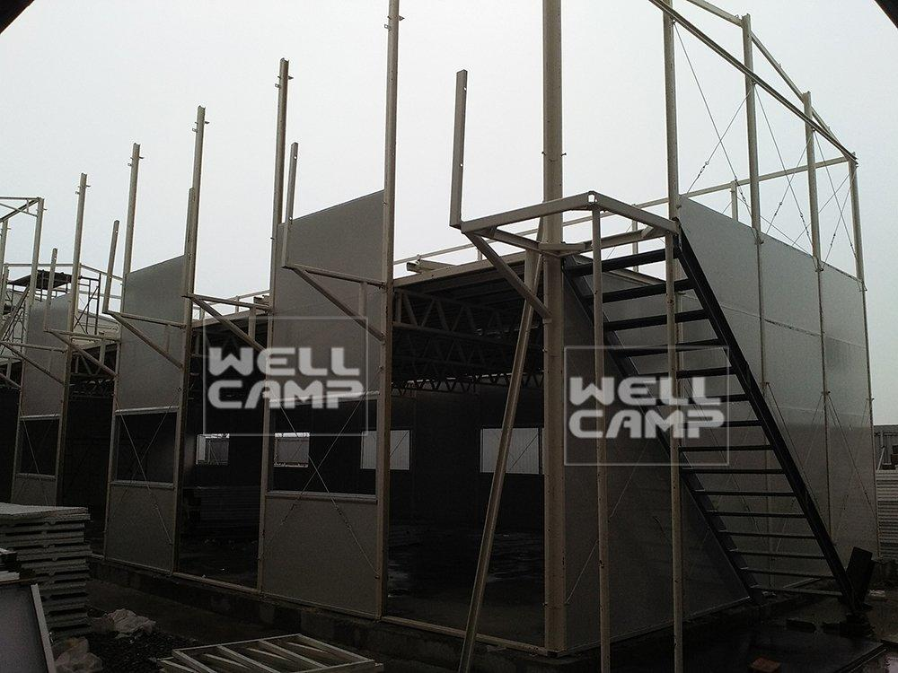 Wellcamp K prefabricated house project in South East Asia