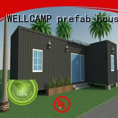 WELLCAMP, WELLCAMP prefab house, WELLCAMP container house storage container homes for sale wholesale for hotel