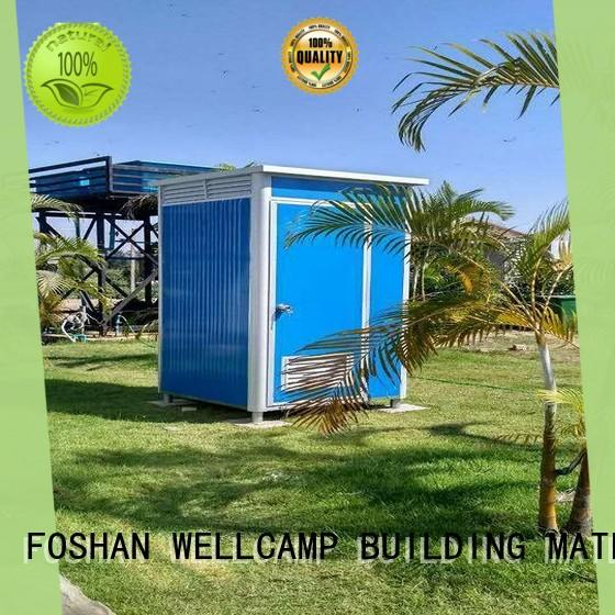 good selling luxury portable toilets public toilet for outdoor WELLCAMP, WELLCAMP prefab house, WELLCAMP container house