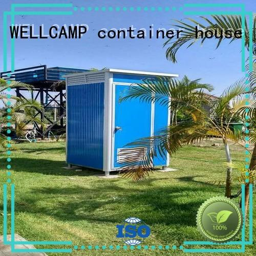 WELLCAMP, WELLCAMP prefab house, WELLCAMP container house good selling builders portable toilet public toilet wholesale