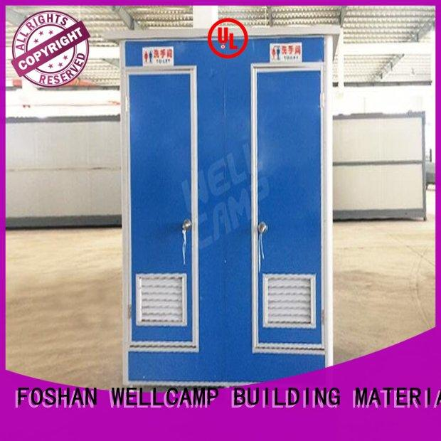 WELLCAMP, WELLCAMP prefab house, WELLCAMP container house double portable toilets price container online
