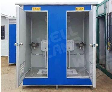 Movable Double Toilet For Outdoor, Wellcamp T-2
