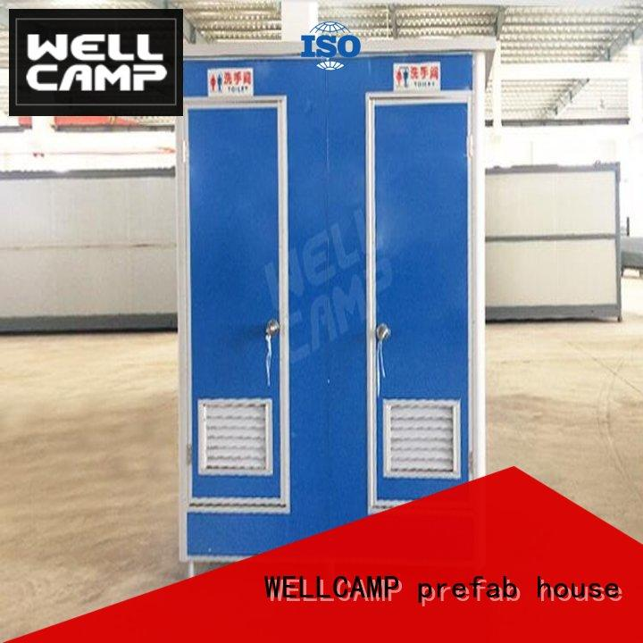 WELLCAMP, WELLCAMP prefab house, WELLCAMP container house portable toilets for sale price container online