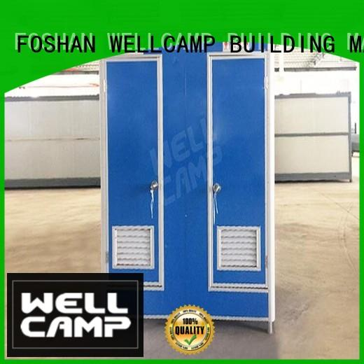 WELLCAMP, WELLCAMP prefab house, WELLCAMP container house units portable toilet solutions good selling for outdoor