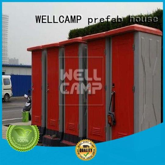 WELLCAMP, WELLCAMP prefab house, WELLCAMP container house good selling adult portable toilet container for outdoor