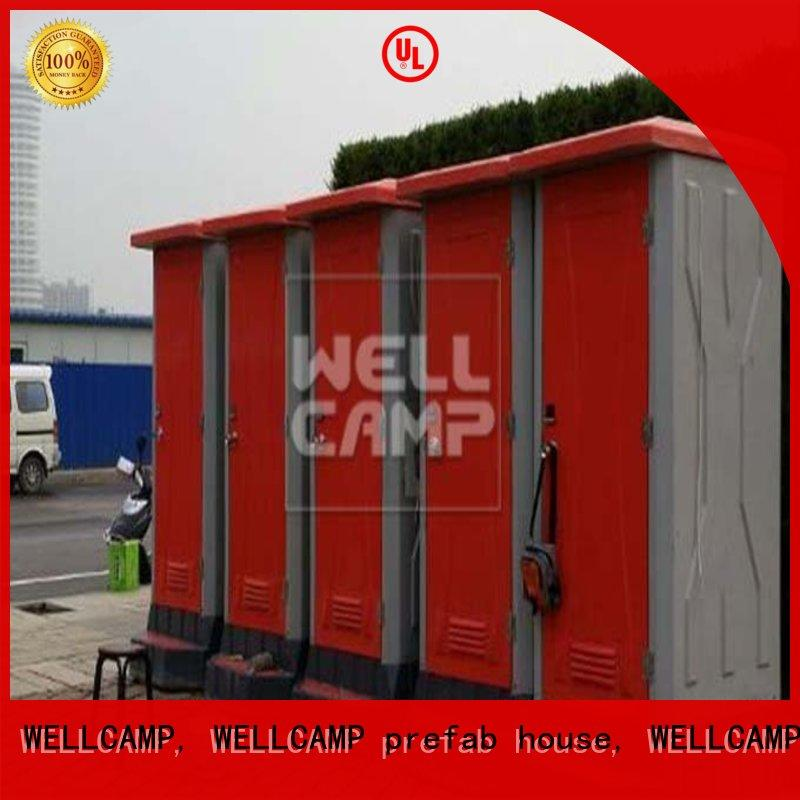 WELLCAMP, WELLCAMP prefab house, WELLCAMP container house portable toilets for sale container online