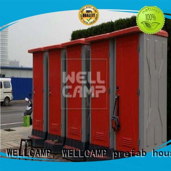 WELLCAMP, WELLCAMP prefab house, WELLCAMP container house portable toilet manufacturers container wholesale