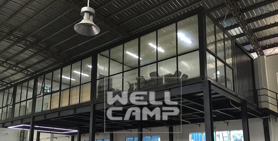 Wellcamp Detachable Container Office Project in Singapore