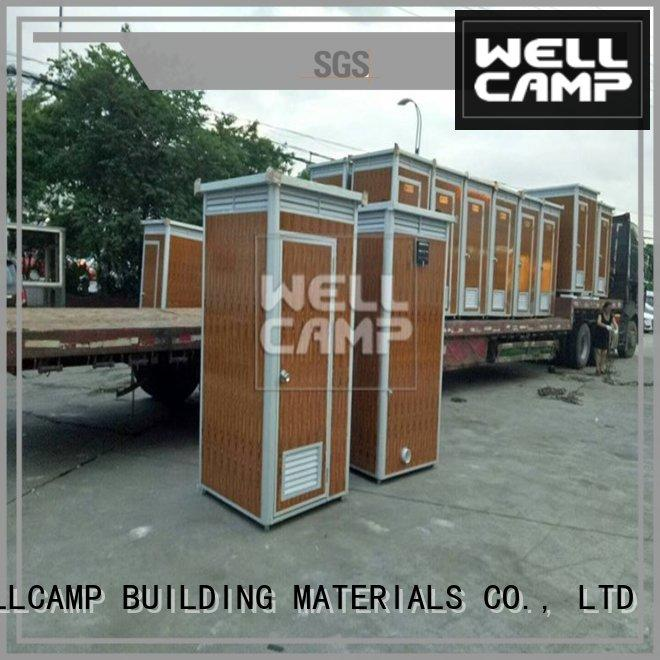 WELLCAMP, WELLCAMP prefab house, WELLCAMP container house professional best portable toilet container online