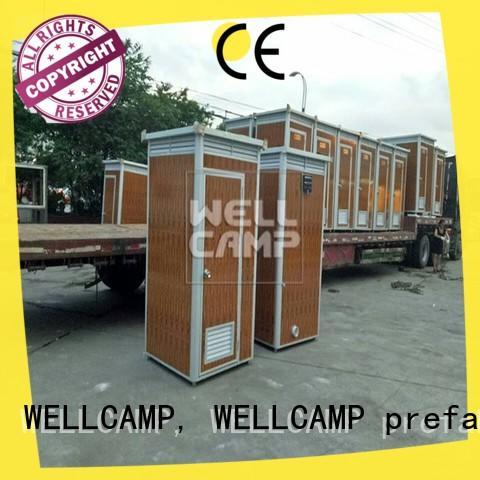 portable toilet service wholesale WELLCAMP, WELLCAMP prefab house, WELLCAMP container house