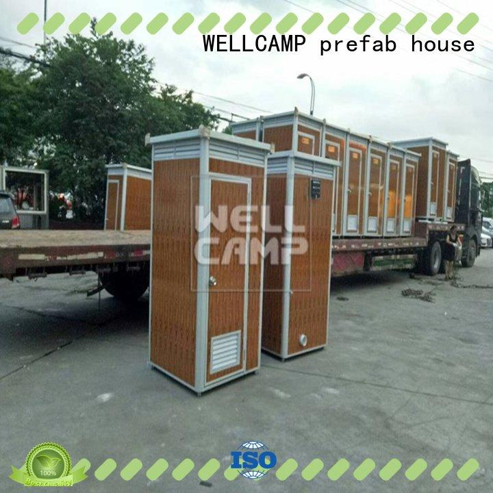 WELLCAMP, WELLCAMP prefab house, WELLCAMP container house superior quality portable toilets for sale public toilet online