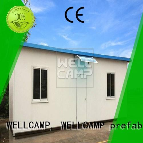 good selling prefab guest house high quality for accommodation WELLCAMP, WELLCAMP prefab house, WELLCAMP container house
