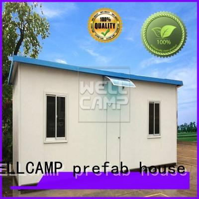 green t1 WELLCAMP, WELLCAMP prefab house, WELLCAMP container house Brand prefab houses for sale
