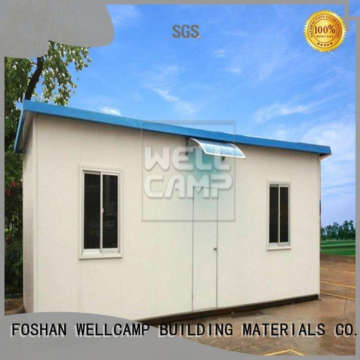WELLCAMP, WELLCAMP prefab house, WELLCAMP container house three storey prefab guest house refugee house for labour camp