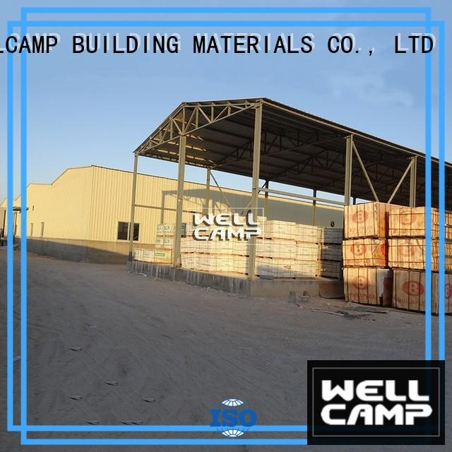 WELLCAMP, WELLCAMP prefab house, WELLCAMP container house strong steel warehouse manufacturer