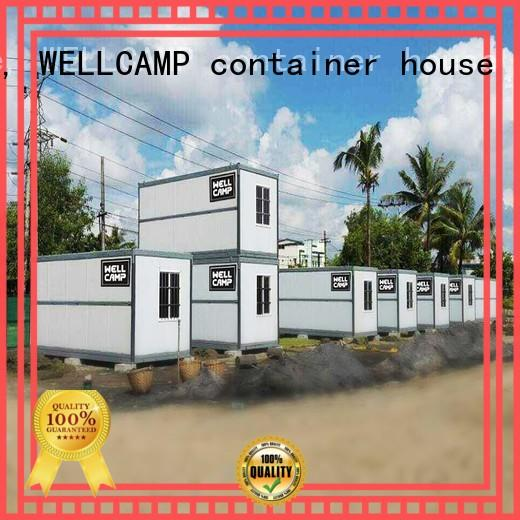 WELLCAMP, WELLCAMP prefab house, WELLCAMP container house sandwich cost to build shipping container home manufacturer for sale