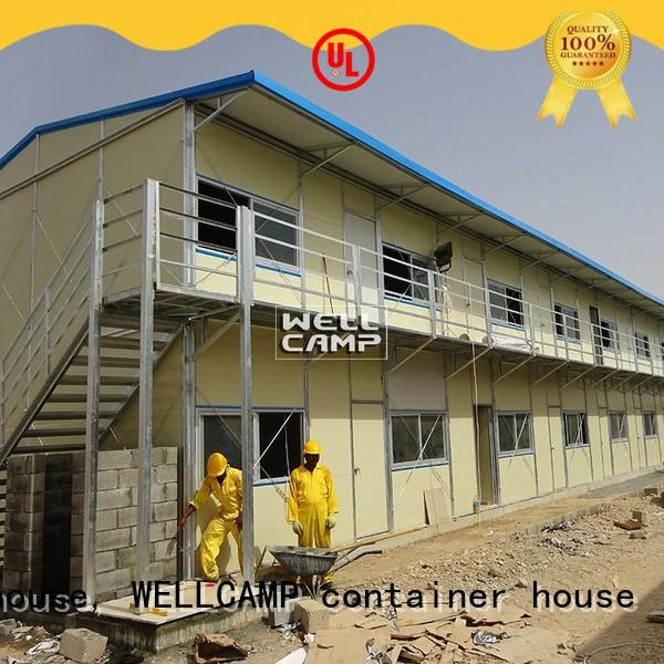 WELLCAMP, WELLCAMP prefab house, WELLCAMP container house prefab houses home for labour camp