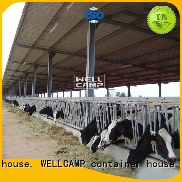 WELLCAMP, WELLCAMP prefab house, WELLCAMP container house steel sheds maker online