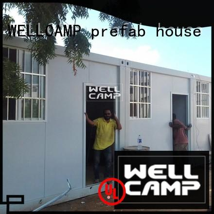 WELLCAMP, WELLCAMP prefab house, WELLCAMP container house container house builders supplier for renting