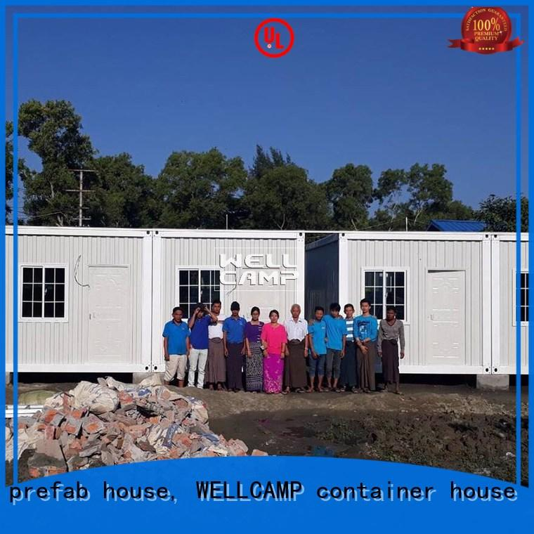 flat movable container house suppliers home for apartment WELLCAMP, WELLCAMP prefab house, WELLCAMP container house