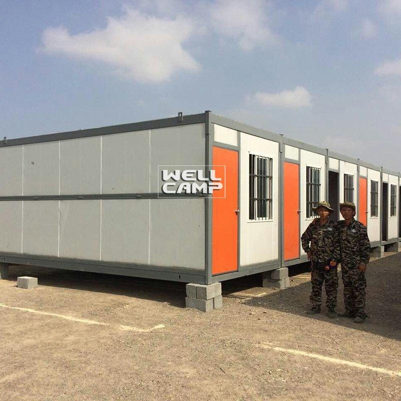 Light Steel Folding Container House for Worker, Wellcamp F-12