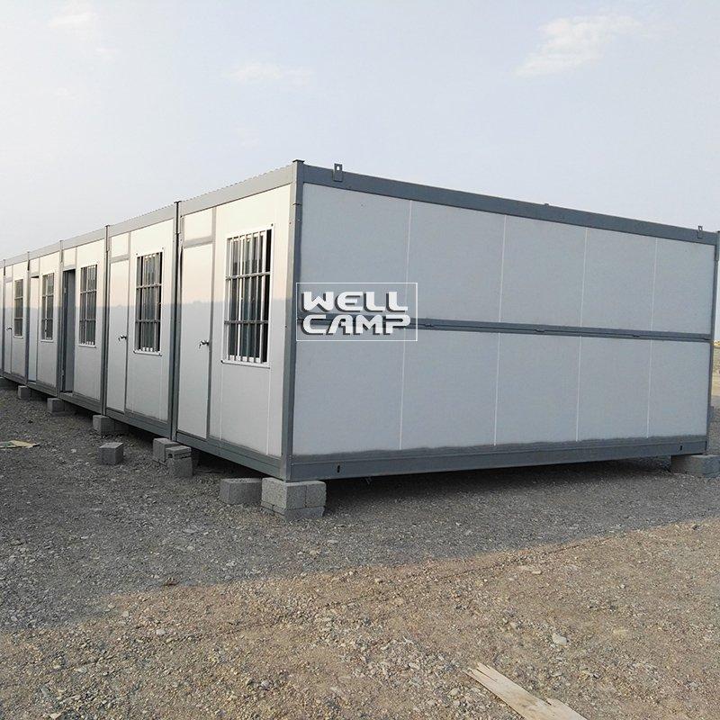 WELLCAMP, WELLCAMP prefab house, WELLCAMP container house Portable Expandable Container House for Workers, Wellcamp F-3 Folding Container House image69