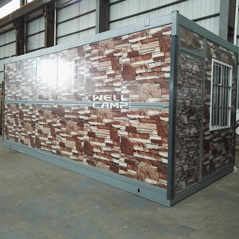 Color Light Steel Folding Container House For Builder, Wellcamp F-6