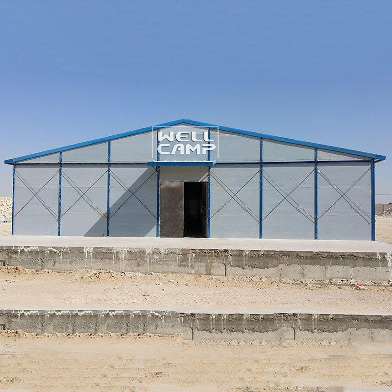 Section Steel Prefabricated K House For Hospital and Office-K-21