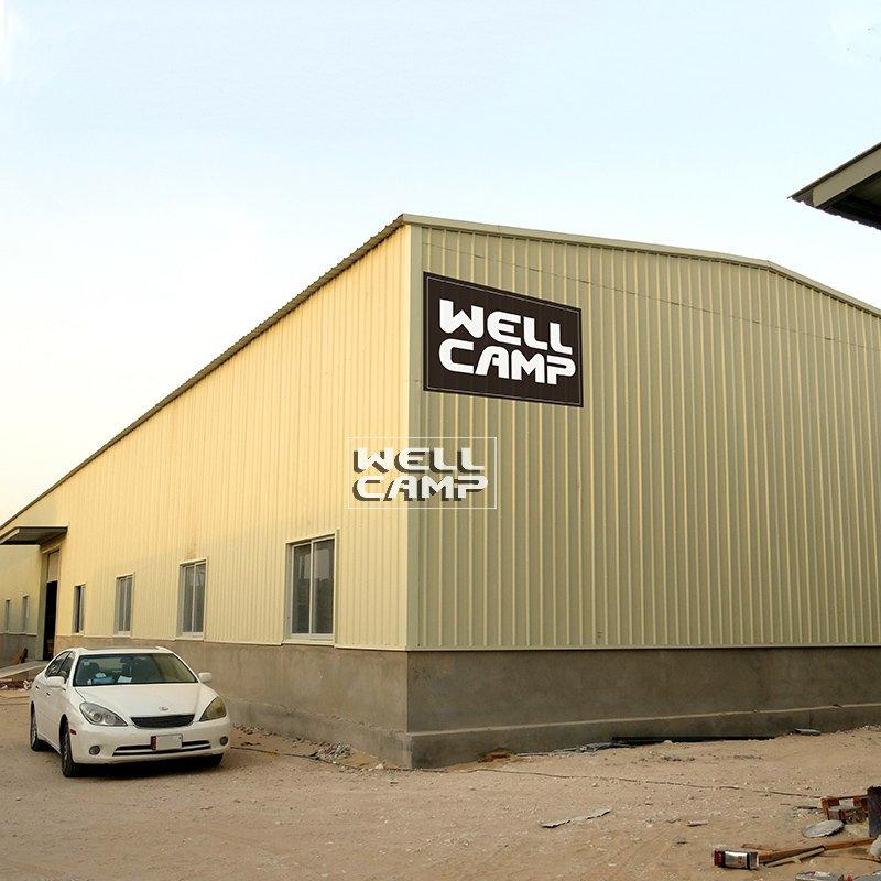 Steel Sheet Steel Structure Building With Brick Wall, Wellcamp S-1