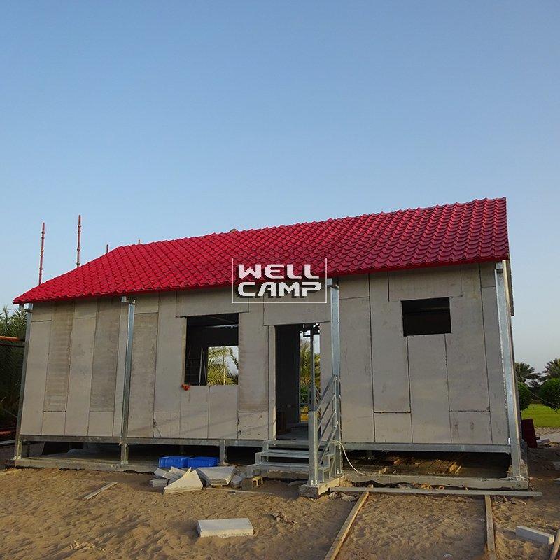 Smart Prefabricated Concrete Villa for Countryside, Wellcamp V-23