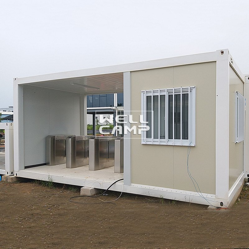 WELLCAMP, WELLCAMP prefab house, WELLCAMP container house Glass Wool Panel Flat Pack Container House, Wellcamp FL-19 Flat Pack Container House image72
