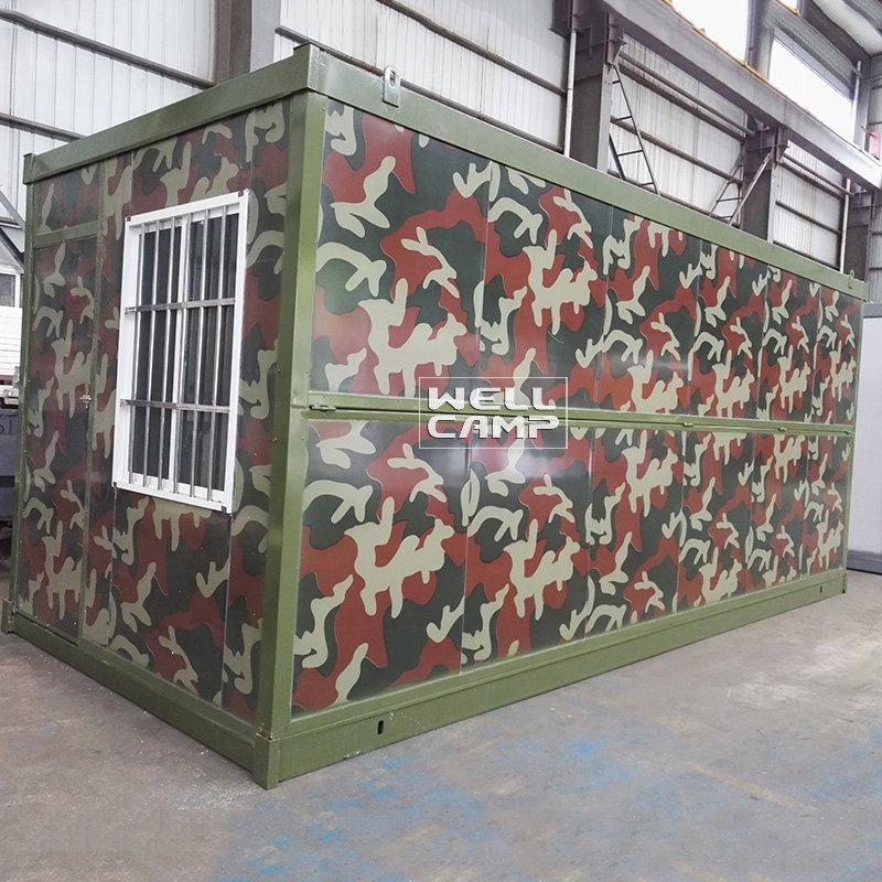 WELLCAMP, WELLCAMP prefab house, WELLCAMP container house Unique Style Prefab Folding Container House, Wellcamp F-5 Folding Container House image76