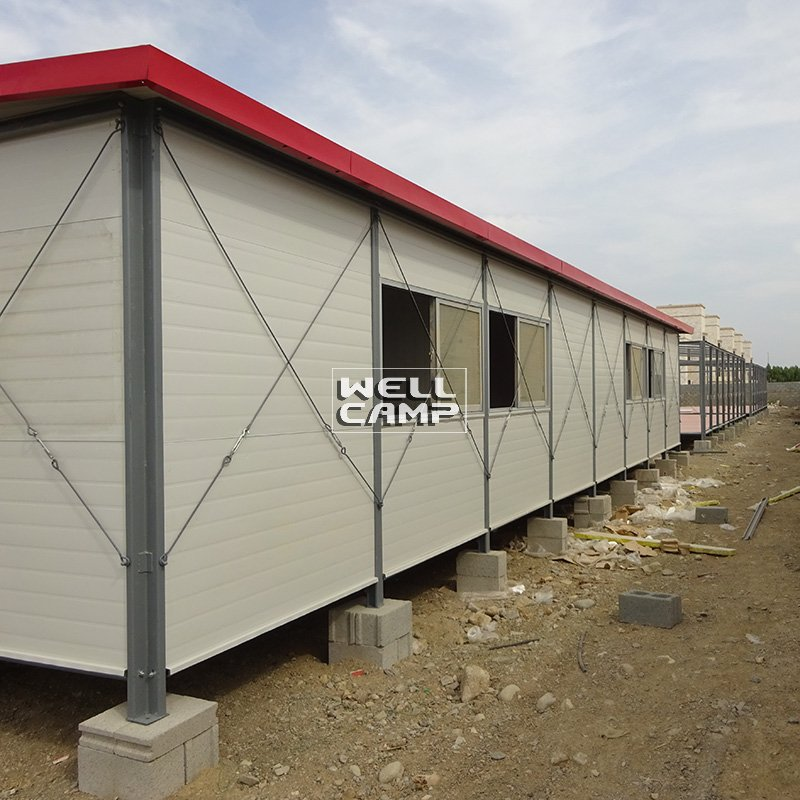 WELLCAMP, WELLCAMP prefab house, WELLCAMP container house Single Pitch Mobile Prefab Homes For Accommodation, Wellcamp K-19 K Prefabricated House image9