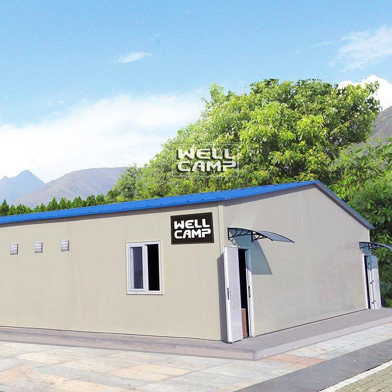 Fire-Proof Prefabricated House For Office, Wellcamp T-2