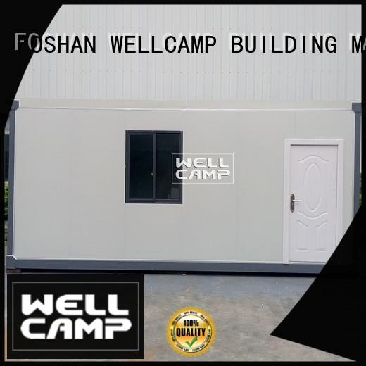 WELLCAMP, WELLCAMP prefab house, WELLCAMP container house design detachable container house home for office